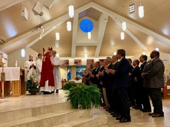 19 Men Enter Candidacy for Permanent Diaconate