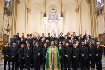 Notre Dame Seminary Welcomes Largest Incoming Class in 20 Years