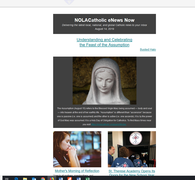 NOLACatholic eNews Now - August 14, 2019