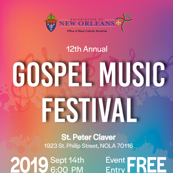 Gospel Fest is Saturday