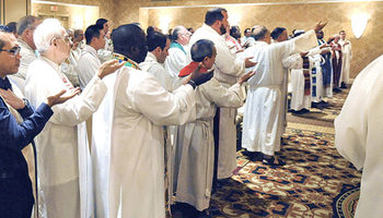 Priests' convocation Sept. 24-26