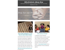 NOLACatholic eNews Now - September 25, 2019
