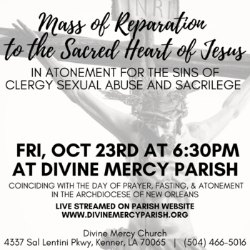 Mass of Reparation to the Sacred Heart of Jesus