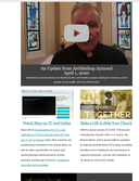NOLACatholic eNews Now - Updates from Archbishop Aymond