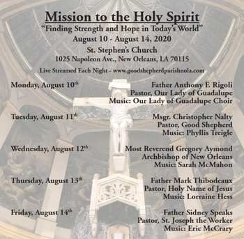 A Mission to the Holy Spirit Coming to St. Stephen Church