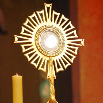 Prayer while Visiting the Most Blessed Sacrament