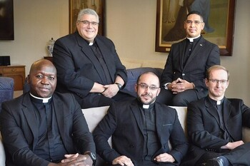 Five Transitional Deacons to be Ordained Tomorrow
