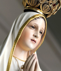 Our Lady Brings Peace to a Troubled World