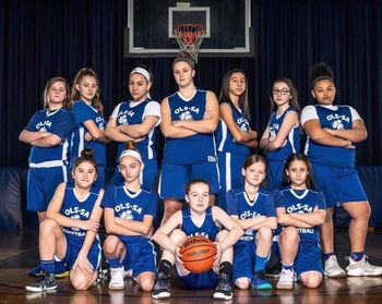 OLS Girls Varsity Team: <div>   2019 CYO Playoff Champions! </div>