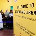 STM St Jerome Library Ribbon Cutting Ceremony
