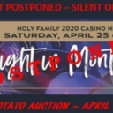 """A Night in Monte Carlo"" Casino Night Postponed"
