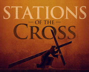 Stations of the Cross with School Children