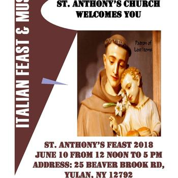 ST. ANTHONY'S FEAST 2018