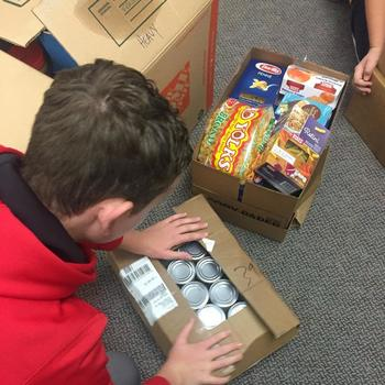Student Council Sponsors Food Drive