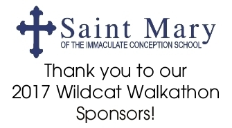 St. Mary Avon Holds First Annual Wildcat Walkathon