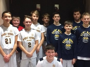 Seventh Grade Boys are Tournament Champs