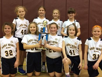Third Grade Girls Take First in Bob Roesky Tournament