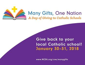 Day of Giving to Catholic Schools Takes Place January 30