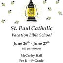 Vacation Bible School at St. Paul