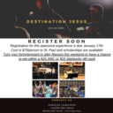 Destination Jesus: A High School Retreat Opportunity