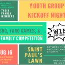 Youth Group Kick-off August 16
