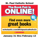 School Book Fair is Online!