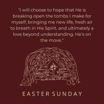 Easter Sunday: Empty Tomb