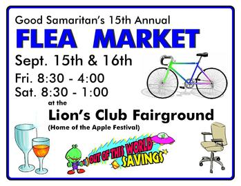 Good Samaritan Annual Flea Market