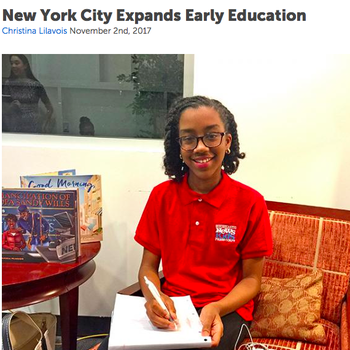 7th Grade Student Publishes Her First Official Scholastic Kids News Article!