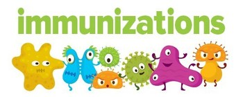 New York City Immunization 2020-2021 chart with vaccine schedule and dosages.