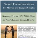 Canceled ---Sacred Communication for Married and Engaged Couples - Canceled