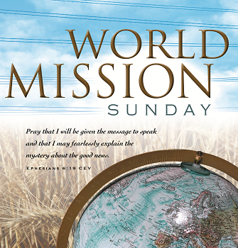 29th Sunday of Ordinary Time - World Mission Sunday