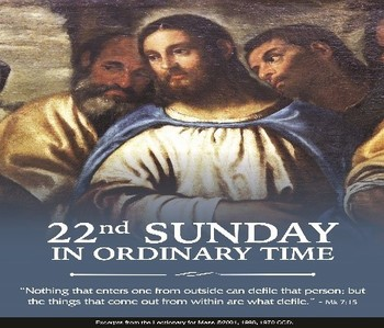 22nd Sunday of Ordinary Time