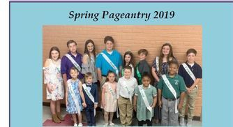 Congratulations to 2019 Spring Pageantry