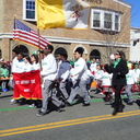 St. Anthony School Marches St. Patrick Day Parade