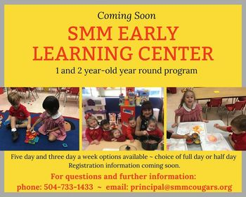 New SMM Early Learning Center