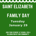 Family Day at Saint Elizabeth School!
