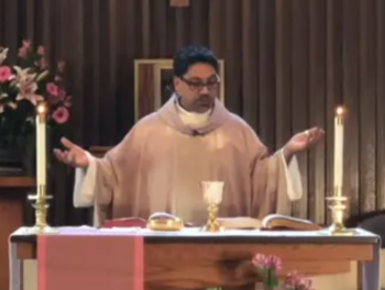 Pre-recorded Mass by Fr. Miguel for Weekend of March 29, 2020