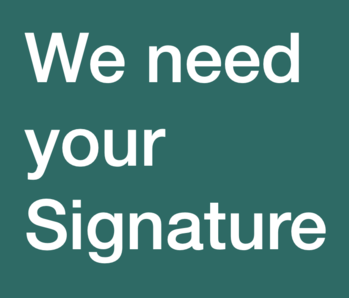 We Need Your Signature for R-90 Petition - May 4 & 5