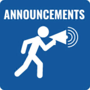 Parish Announcements for July 24th and 25th