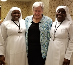 Benedictine Sisters from Tanzania Visit