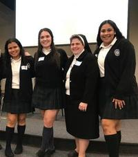 Vocation Directors Interact with High School Students