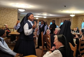 Sisters Share Retreat