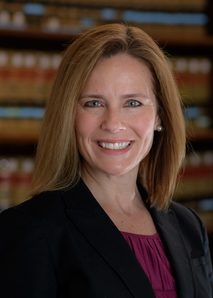 Congratulations Justice Amy Coney Barrett, '86