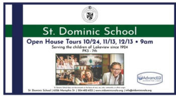Open House School Tours - December 13