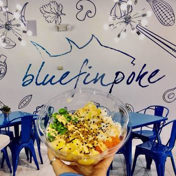 Blue Fin Poké - Give Back to St. Dominic Night, May 20!