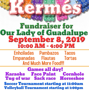 Kermés - Fundraiser for Our Lady of Guadalupe