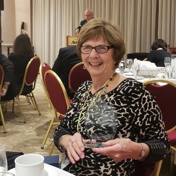 Mrs. Deutsch receives 2018 Light the Fire Award