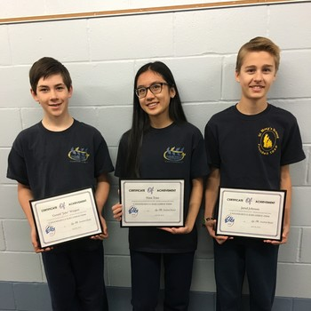 SMS students take top honors in Elks Contest!
