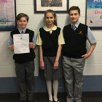 6th Grade Students Earn Top Honors